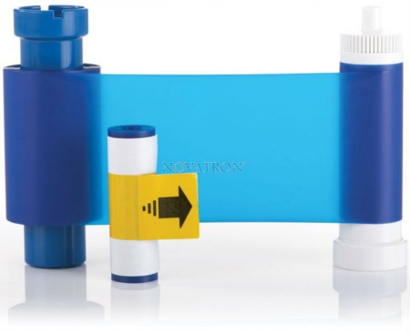 Magicard MA1000K-Blue: Μπλε μελανοταινία 1000 όψεων για εκτυπωτές Magicard Pronto, Enduro, RioPro