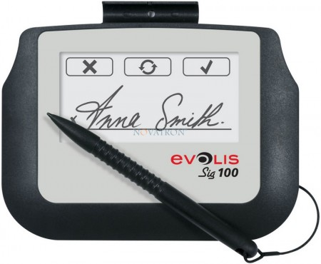 Evolis Signature Pad Sig100: Ταμπλέτα ηλεκτρονικής χειρόγραφης υπογραφής