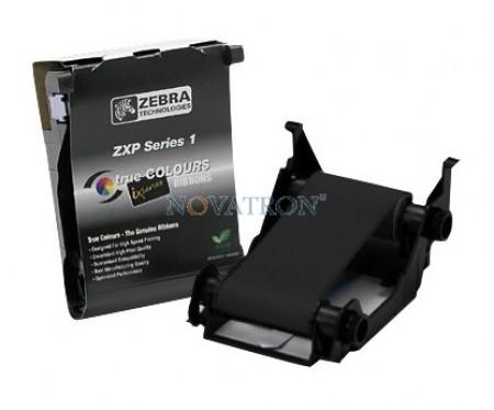 Zebra 800011-101 Black: Μαύρη μελανοταινία 1000 όψεων για τον εκτυπωτή Zebra ZXP1