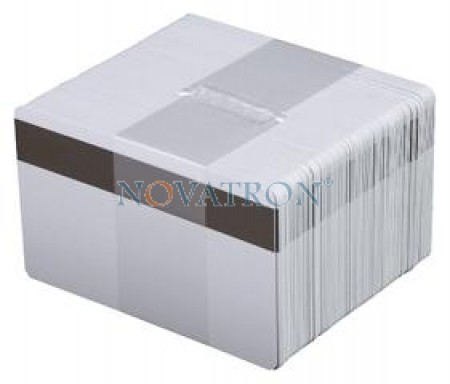 CR80-L: Λευκές πλαστικές κάρτες με μαγνητική ταινία LoCo