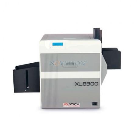 MATICA XL8300: Καινοτόμος εκτυπωτής μεγάλων πλαστικών καρτών, τεχνολογίας Reverse Transfer