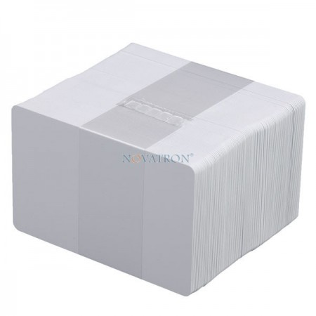 CR80-B: Λευκές πλαστικές κάρτες PVC