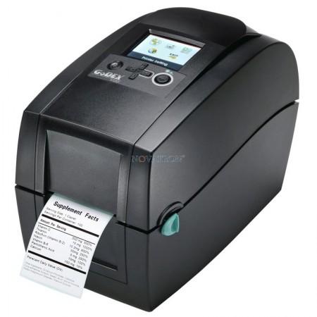 "Godex RT200i μικρός θερμικός εκτυπωτής ετικετών & εισιτηρίων 2"" - 177mm/s - LCD οθόνη - USB host"
