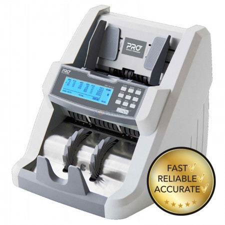 PRO 150 MIX EURO: Επαγγελματικός Καταμετρητής Χαρτονομισμάτων και Ανιχνευτής Πλαστότητας