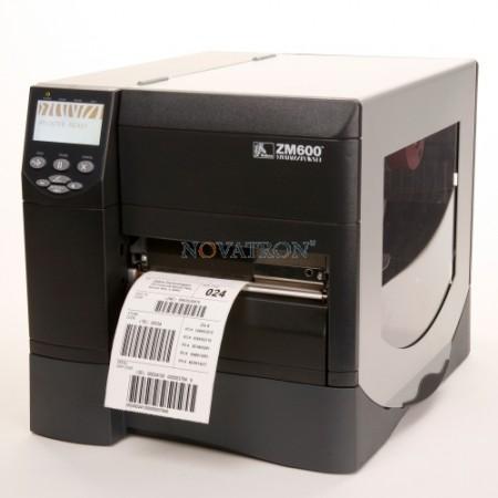 Zebra ZM600: Βιομηχανικός Εκτυπωτής Ετικετών-Barcode (Πλάτος εκτύπωσης έως 168mm)