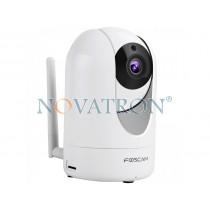 Foscam R2: Έγχρωμη Ρομποτική IP κάμερα HD 1080p, Εύρος φακού 110°, Νυχτερινή Λήψη 8 μ., PnP, WiFi/Ethernet, microSD 128GB, Pan/Tilt – IP Camera