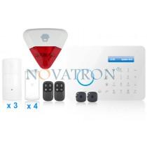 Chuango A11 SafeHome Advanced ασύρματος συναγερμός PSTN (πλήρες πακέτο για όλους)
