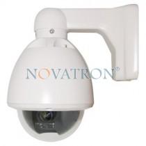 Bionics PTZAN1: Ρομποτική αδιάβροχη PTZ κάμερα με Οπτικό Zoom 10x, 500 TVL. Speed Dome mini