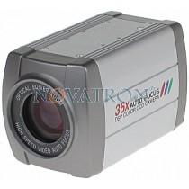 "Bionics CC-5336X : Αναλογική κάμερα εσωτερικού χώρου (CCD 1/4"" 500 TVL) με 36x  ZOOM"