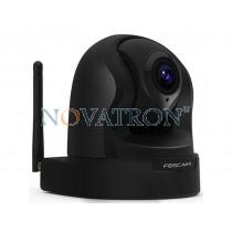 Foscam FI9826P: Έγχρωμη Ρομποτική IP κάμερα, HD (960p) με 3x οπτικό zoom, PnP, WiFi/Ethernet, H.264, Νυχτερινή Λήψη (έως 8 μ.), μνήμη SD – IP Camera (Μαύρη)