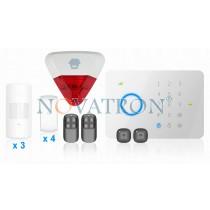 Chuango G5 SafeHome Advanced ασύρματος συναγερμός GSM (πλήρες πακέτο για όλους)