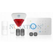 Chuango G5 SafeHome Basic έξυπνος και εξελιγμένος ασύρματος συναγερμός GSM + Ασύρματη σειρήνα εξωτερικού χώρου