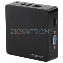 Foscam FN3004H black: Μικρό δικτυακό καταγραφικό (NVR) για 4 IP κάμερες έως 960P, MJPEG και HD - Μαύρο
