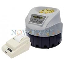 PRO CS-80 με Printer Port: Καταμετρητής και Ταξινομητής Κερμάτων με εκτυπωτή (προαιρετικά)