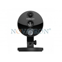 Foscam C2 Black : Έγχρωμη IP κάμερα HD 1080p, Εύρος φακού 120°, Νυχτερινή Λήψη 8 μ., PnP, WiFi/Ethernet, microSD 64GB – IP Camera