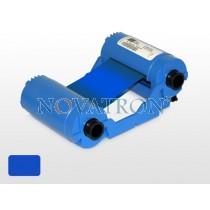 Zebra 800015-904: Μπλε μελανοταινία 1000 όψεων για εκτυπωτές Zebra P100i, P110i και P120i