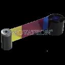 Datacard 534000-006: Έγχρωμη μελανοταινία (YMCKT-KT) 300 όψεων για εκτυπωτή SD460