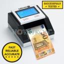 Safenote S2 (new 50€ upgraded): Πιστοποιημένος Ανιχνευτής Πλαστών Χαρτονομισμάτων