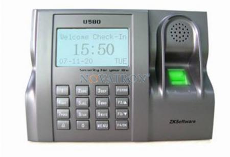 ZK U580: Biometric Fingerprint Time & Attendance and Access Control System
