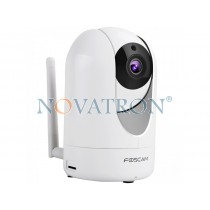 Foscam R2: Color Pan/Tilt IP Camera, PnP, WiFi/Ethernet, Night Vision (up to 8m.), microSD