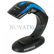 Datalogic Heron HD3100: USB Barcode CCD Scanner with Stand