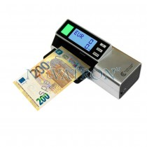 CCE 110 NEO: Portable banknote detector with battery or USB power supply