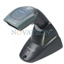 Datalogic Heron D130: Cabled Barcode CCD Scanner with Stand