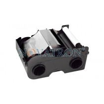 Fargo 45106: White Ribbon 1000 prints/roll. Compatible with Fargo C50 - DTC1000 - DTC1250e - DTC4000 - DTC4250e.