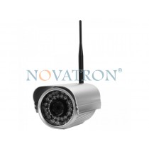 Foscam FI9805W: Outdoor Color IP Camera, HD (720p), WiFi/Ethernet, H264, Night Vision up to 30 m.