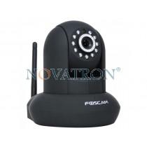 Foscam FI9831P: Pan/Tilt Color IP Camera, HD (1.3Megapixels), WiFi/Ethernet, PnP, H.264, Night Vision (up to 8m.), SD Card – Black