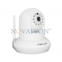 Foscam FI9831P: Pan/Tilt Color IP Camera, HD (1.3Megapixels), WiFi/Ethernet, PnP, H.264, Night Vision (up to 8m.), SD Card – White