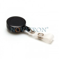 Plastic Badge Reel with Belt Clip