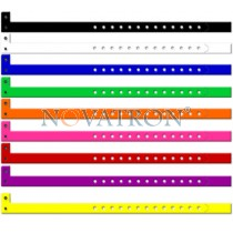 "L-WRIST: ""L"" Shape vinyl Wristbands"