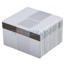CR80-L: Blank White PVC Cards with Magnetic Stripe LoCo