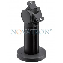 Novus Retail System Base 100 Connect: aluminum column anthracite anodised  with joint for connect plates - 10cm