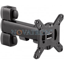 Novus Retail System Arm Μ 120: support carriage 200mm for terminals and screens