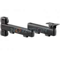 Novus Retail System Connect L 380: 2-part support arm 450mm for connect plates