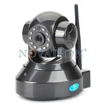 Opticam 4: Pan/Tilt Color IP Camera, HD (720p), WiFi/Ethernet, H.264, Night Vision (up to 10m.), microSD Card – Black