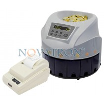 PRO CS-80 + optional printer: Coin Sorter with optional thermal printer