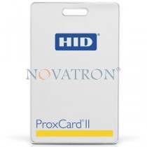 HID ProxCard II (1326): Contactless pre-punched PVC cards (EM4100) 125KHz, clamshell