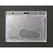 Horizontal Rigid Badge Holder