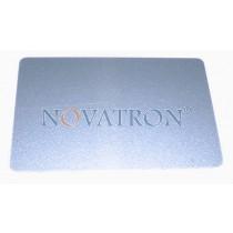 CR80-S: Silver Silkscreen Blank PVC Cards