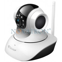 Vstarcam C7835WIP: Pan/Tilt Color IP Camera, HD (720p), WiFi/Ethernet, H.264, Night Vision (up to 10m.), microSD Card – White