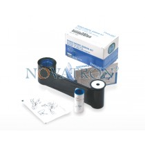 Datacard 532000-052: Black Ribbon 500 prints/roll for Datacard SP25 - SD460 - SD160.