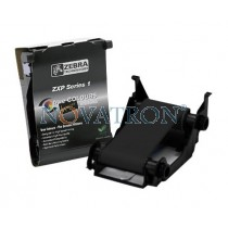 Zebra 800011-101: Black Ribbon 1000 prints/roll. Compatible with Zebra ZXP1 Printers.