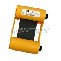 Zebra 800033-801: Black Ribbon 1000 prints/roll. Compatible with Zebra ZXP3 Printer.