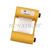 Zebra 800033-809: White Ribbon 850 prints/roll. Compatible with Zebra ZXP3 Printer.